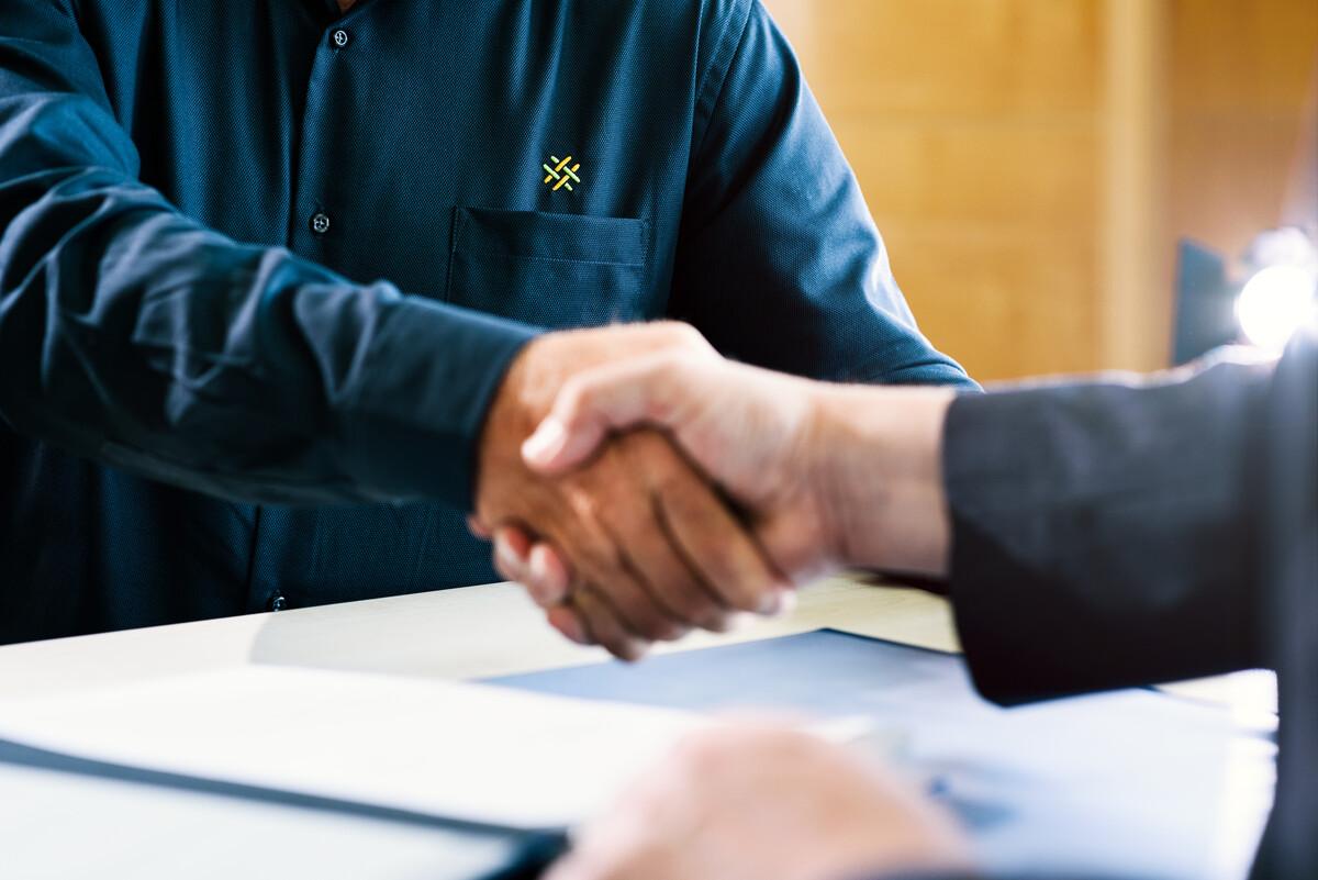 Unterzeichnung Konzessionsvertrag